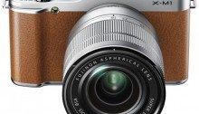 ขายกล้อง Fujifilm X-M1 Kit with 16-50mm - Brown ราคาถูก