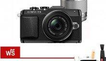 ขายกล้อง Olympus Digital Camera PEN E-PL7 Double Lens Kit - Black Free! SD16gbC10, screen protector, Case Tabi50, Filer37mm+52mm, lenspen,Tabi ผ้าไฟเบอร์ ) ราคาถูก