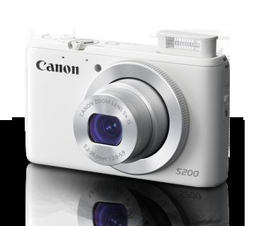 ขายกล้อง Canon รุ่น PowerShot S200 ราคาถูก