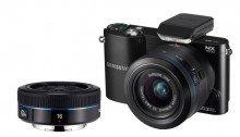 ขายกล้อง Samsung กล้อง Mirrorless 20.3MP WIFI 2 LENS 16mm+20-50mm รุ่น NX1000 - Black ราคาถูก