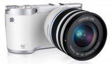 ขายกล้อง Samsung NX300 Kit (18-55mm) - White ราคาถูก