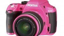 ขายกล้อง PENTAX รุ่น K50 - Pink/Black ราคาถูก