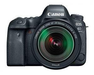 ผลทดสอบ dynamic range ของ Canon 6D Mark II ที่ต่ำกว่ากล้องเซ็นเซอร์ APS-C  รุ่นเดิม